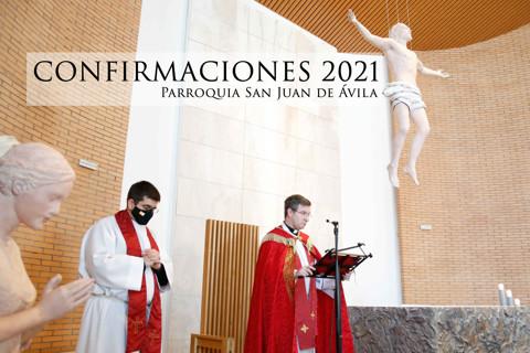 CONFIRMACIONES SAN JUAN DE ÁVILA 2021